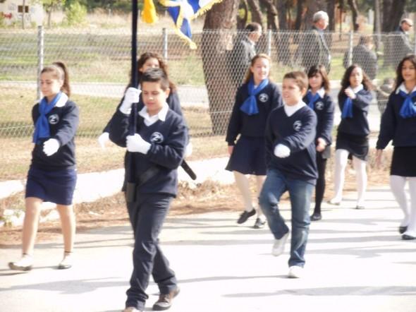 Το 2ο Δημοτικό Σχολείο Ευκαρπίας ήταν στην παρέλαση!